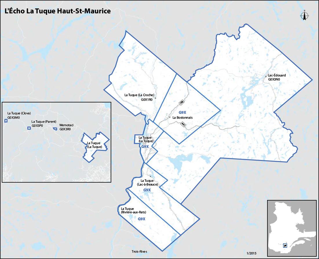 L'Écho de La Tuque / Haut-St-Maurice
